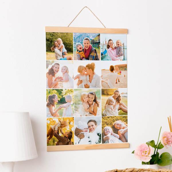 Stampa Poster Multifoto Poster 30x40 - 50x70 con astine o cornici ciaoalt